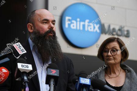 Editorial image of Fairfax and Nine merger reactions, Sydney, Australia - 26 Jul 2018