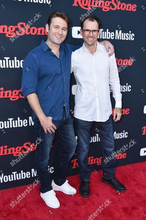 Stock Picture of John Buffalo Mailer and Matt Mailer