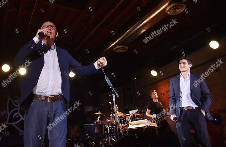 Editorial photo of Rolling Stone Relaunch presented by YouTube Music, Inside, Brooklyn, New York, USA - 26 Jul 2018
