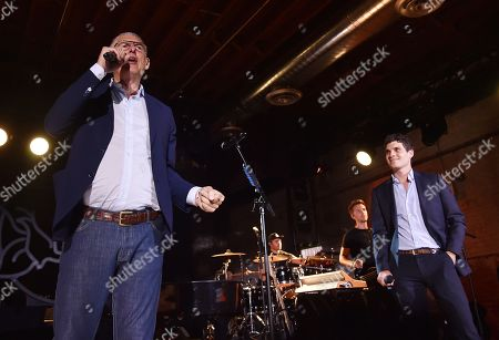 Stock Image of Lyor Cohen and Gus Wenner