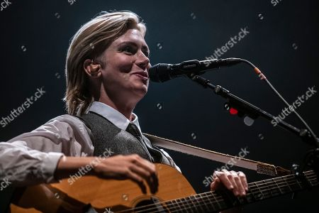 Swedish singer Anna Ternheim performs during her concert at the Blue Balls Festival in Lucerne, Switzerland, 26 July 2018. The music festival runs from the 20 to 28 July.