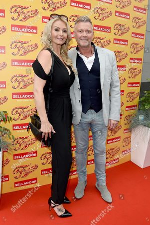 Darren Day and his wife Stephanie Dooley.