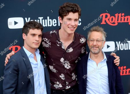 Gus Wenner, Shawn Mendes, and Jason Fine