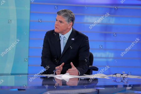 "Fox News talk show host Sean Hannity interviews Roseanne Barr during a taping of his show, in New York. Roseanne Barr will appear on on the Fox News show ""Hannity"" on Thursday at 9 p.m. EDT for the first time since she was fired from ABC and her namesake show was canceled. ABC canceled its successful reboot of ""Roseanne"" in May following the star's racist tweet likening former Obama adviser Valerie Jarrett to a cross between the Muslim Brotherhood and a ""Planet of the Apes"" actor"
