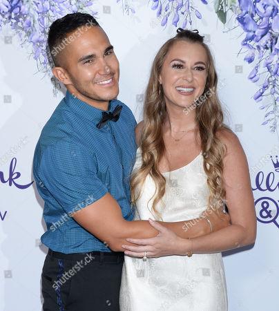 Alexa Vega adn husband Carlos PenaVega