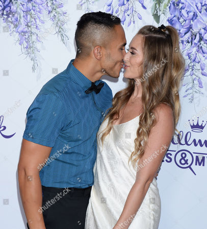 Stock Photo of Alexa Vega adn husband Carlos PenaVega