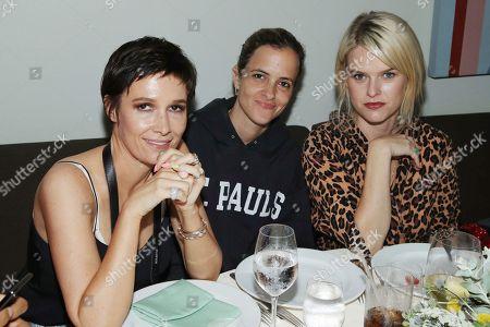 Cassandra Grey, Samantha Ronson and Alice Eve