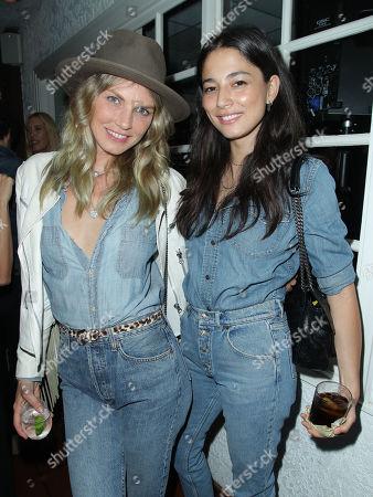 Angela Lindvall and Jessica Gomes