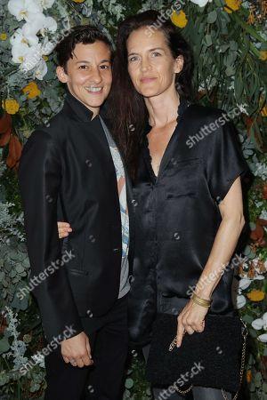 Stock Picture of Nina Fiore and Mallette Lamy