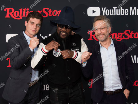 Gus Wenner, Toots Hibbert, Jason Fine. Gus Wenner, left, Toots Hibbert and Jason Fine attend a Rolling Stone magazine relaunch event presented by YouTube Music, in New York