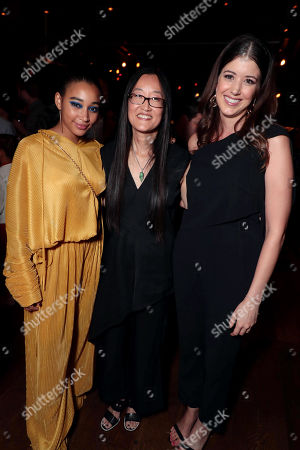 Amandla Stenberg, Jennifer Yuh, Director, Alexandra Bracken, Author,