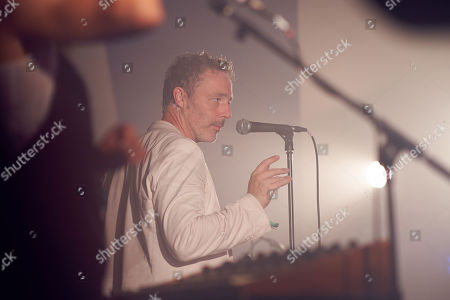 Baxter Dury performs at the Caught By The River Stage