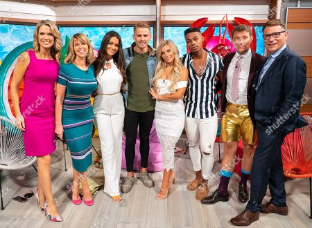 Charlotte Hawkins, Ben Shephard, Kate Garraway, Richard Arnold and Alex Miller, Ellie Brown, Charlie Brake, Stephanie Lam, Josh Mair