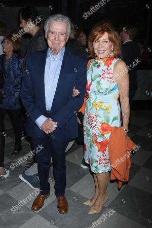 Stock Picture of Regis Philbin, Joy Philbin