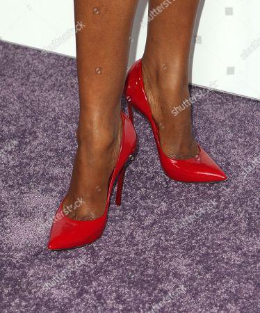 Jerrika Hinton, shoe detail