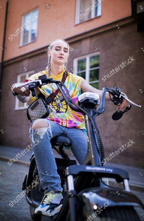 Editorial image of Silvana Imam photoshoot, Stockholm, Sweden - 17 Jul 2018
