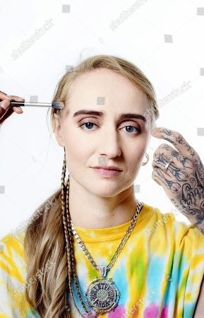 Editorial photo of Silvana Imam photoshoot, Stockholm, Sweden - 17 Jul 2018