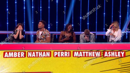 (Ep 5) Amber Davies, Nathan Henry, Perri Shakes-Drayton, Matthew Wolfenden and Ashley Roberts.