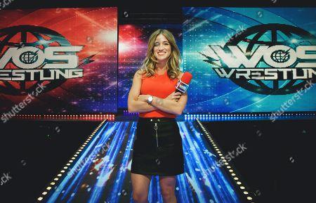 Backstage presenter Rachel Stringer