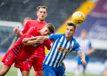 Kilmarnock Eamonn Brophy and queens james grant