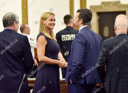 Editorial image of Vanessa and Donald Trump Jr divorce hearing, New York, USA - 26 Jul 2018