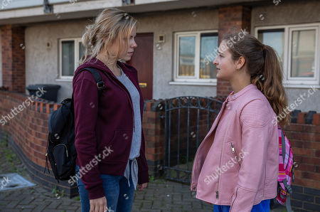 Ep 8225 Tuesday 7th August 2018 Amelia Spencer, as played by Daisy Campbell, manages to get away to track down Beth, as played by Annabelle Kaye, but Harriet is on her tail. Amelia is soon devastated when Beth rejects her.