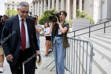 Stock Photo of Former New York Assembly Speaker Sheldon Silver arrives at federal court in New York, . Silver, the former New York Assembly speaker who brokered legislative deals for two decades before corruption charges abruptly ended his career, will be sentenced for a second time Friday