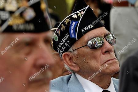 Editorial picture of Korean War Veterans, New York, USA - 27 Jul 2018