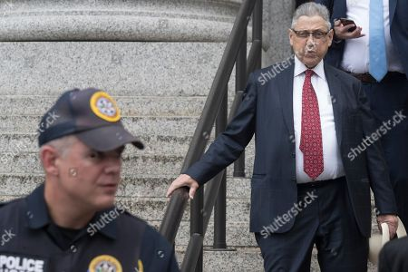 "Former New York Assembly Speaker Sheldon Silver leaves federal court in New York after his sentencing, . Silver, a former New York Assembly speaker who brokered legislative deals for two decades before criminal charges abruptly ended his career, was sentenced Friday to seven years in prison by a judge who said political corruption in the state ""has to stop"
