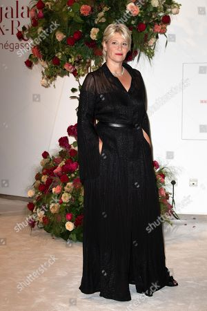 Stock Picture of Maitena Biraben attends the 70th annual Red Cross Gala at the sporting club in Monte-Carlo, July 27, 2018.