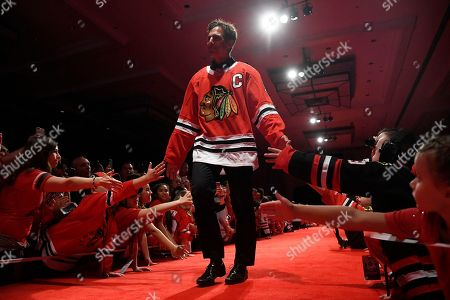 Editorial picture of Blackhawks Convention Hockey, Chicago, USA - 27 Jul 2018