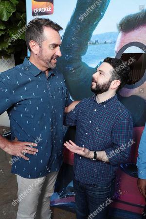 Rob Riggle and Samm Levine