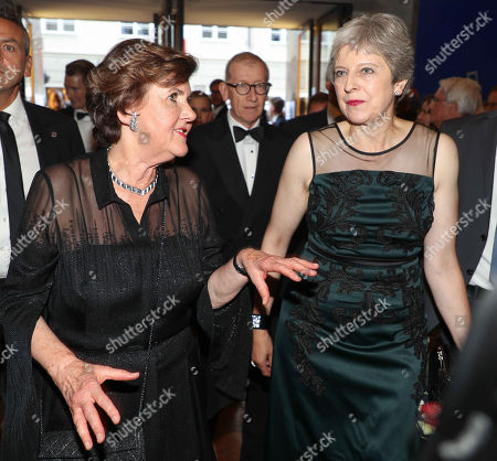 British Prime Minister, Theresa May with Festival President Helga Rabl-Stadler