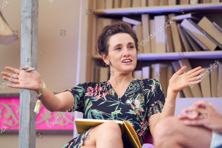 Stock Photo of Grace Dent at The Bowling Green, Port Eliot Festival