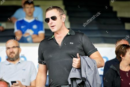 Peterborough United owner Darragh MacAnthony before the Pre-Season Friendly match between Peterborough United and Bolton Wanderers at London Road, Peterborough. Picture by Nigel Cole