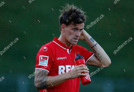 Bonn, Germany, pre season friendly,  1.FC Koeln vs. Mainz 05  5-3 27 .7. 2018  Sportpark Nord in Bonn Simon ZOLLER (FC)