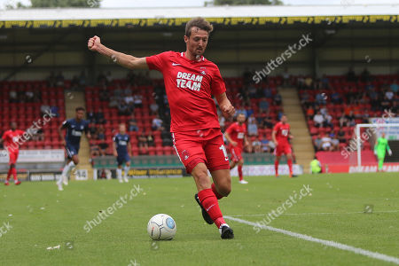 Stock Photo of David Mooney of Orient during Leyton Orient vs Southend United, Friendly Match Football at the Matchroom Stadium on 28th July 2018