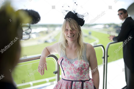 Royal Ascot - Luella Bartley wearing her own label