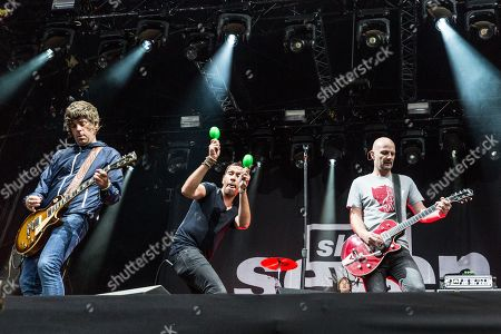 Shed Seven - Paul Banks, Rick Witter, Alan Leach, and Joe Johnson