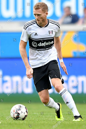 Fulham's Andre Schuerrle in action during the 'Cup of Traditions' international friendly match between Fulham FC and ACF Fiorentina, in Duisburg, Germany, 28 July 2018.