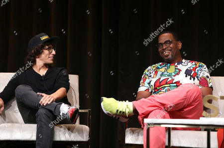 "Evan Rosenfeld, Luther Campbell. Executive Producers Evan Rosenfeld, left, and Luther ""Uncle Luke"" Campbell attend the STARZ TCA panel for ""Warriors of Liberty City"" at The Beverly Hilton Hotel on in Beverly Hills, Calif"