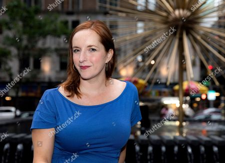 Editorial photo of Rebecca Makkai out and about, New York, USA - 22 Jul 2018