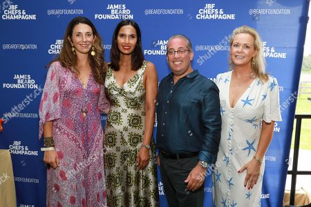 Editorial photo of James Beard Foundation's 'Chefs and Champagne' event, Sagaponack, USA - 28 Jul 2018