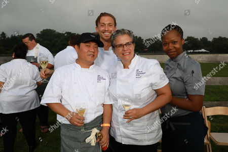 Editorial image of James Beard Foundation's 'Chefs and Champagne' event, Sagaponack, USA - 28 Jul 2018