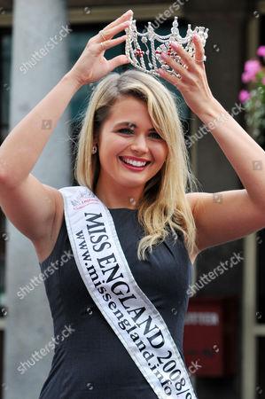 Laura Coleman (winner of Miss England 2008)