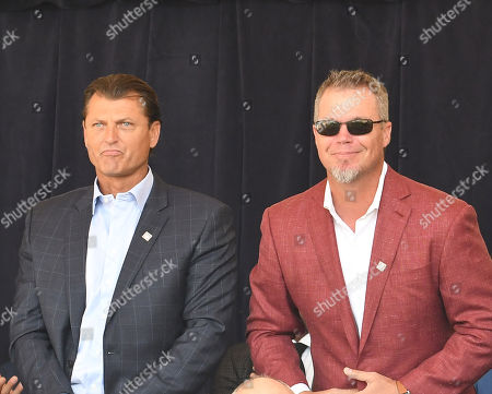 Trevor Hoffman and Chipper Jones
