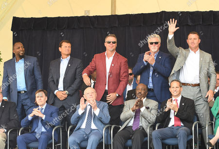 Vladimir Guerrero, Trevor Hoffman, Chipper Jones,Jack Morris and