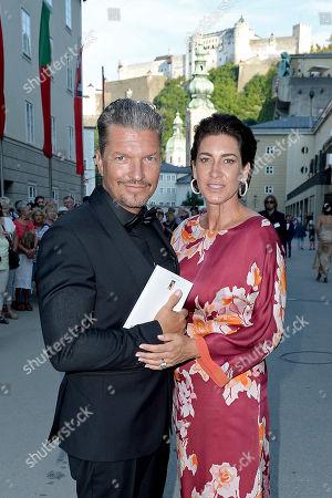 Stock Image of Hardy Kruger jr. and Alice Rössler