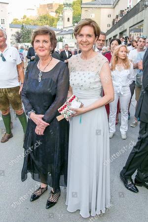 Editorial photo of Salome premiere, Salzburg Festival, Austria - 28 Jul 2018