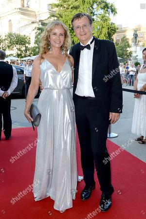 Hans Mahr and Katja Burkard